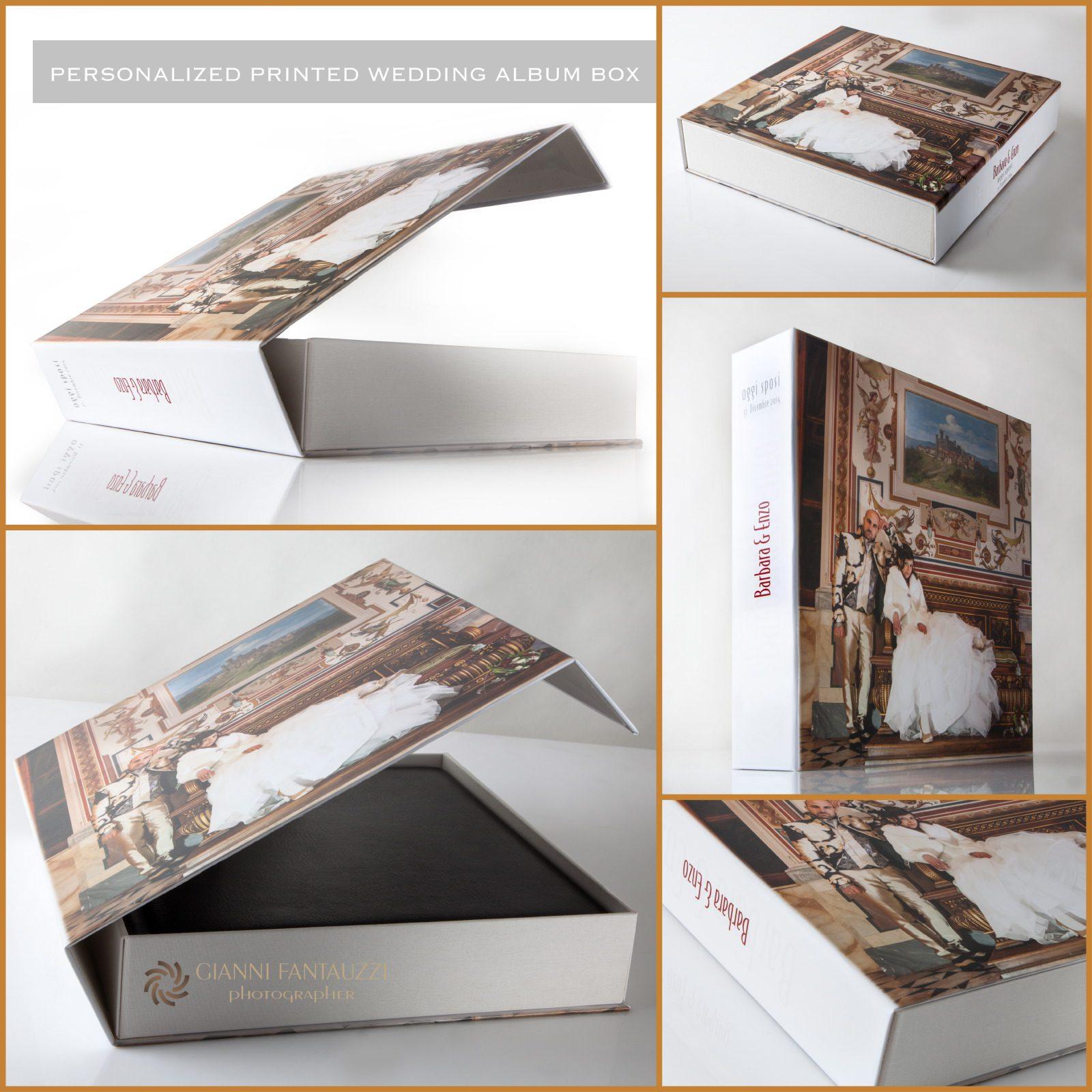 PRINTED WEDDING ALBUM BOX