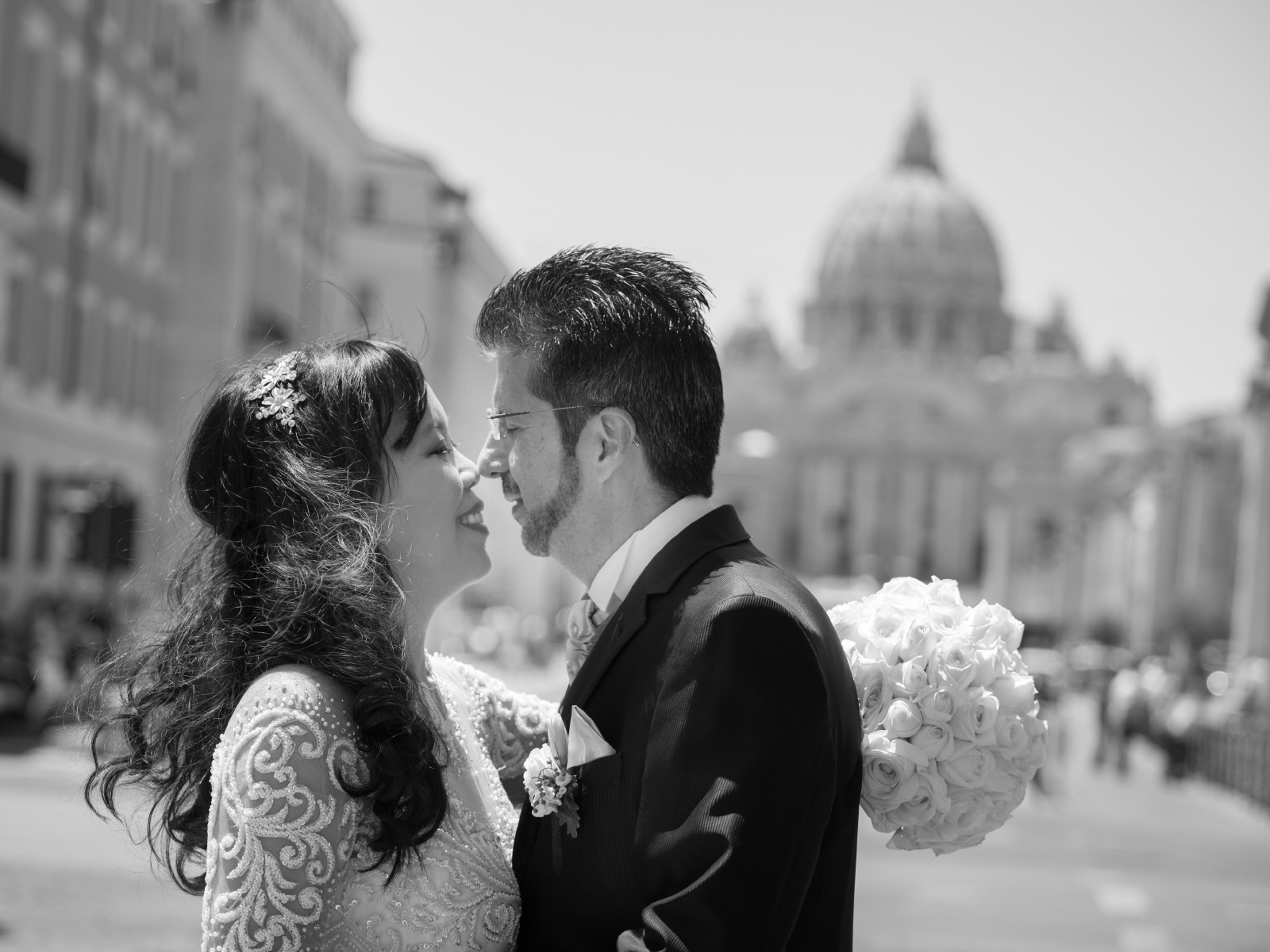 Wedding at the Vatican in Rome